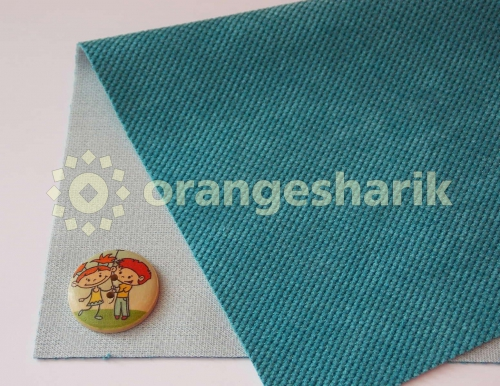 Материал для шитья Велюр IN 08 голубой