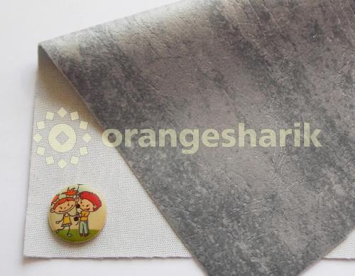 Материал для шитья Велюр LT светло-серый