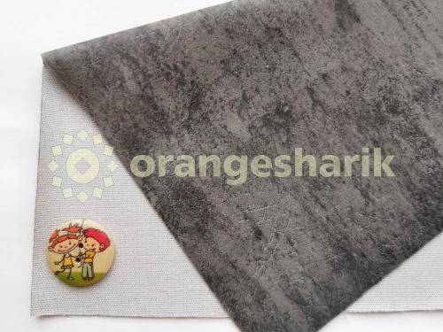 Материал для шитья Велюр LT тёмно-серый
