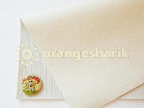 Материал для шитья Велюр GY 01 белый