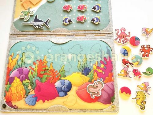 Набор для шитья - планшет морской