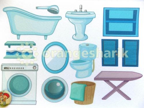 Печать - Ванная комната