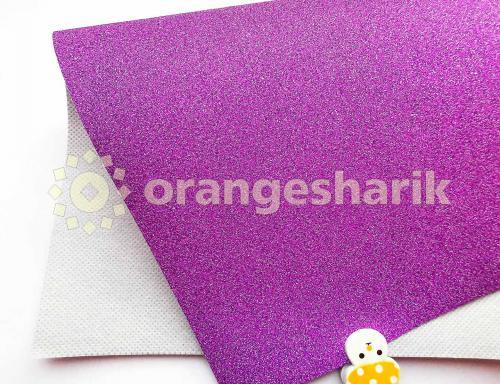 Блеск на тканом материале (фиолетовый)