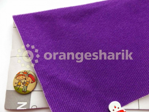 Велкроткань клеевая Фиолетовая