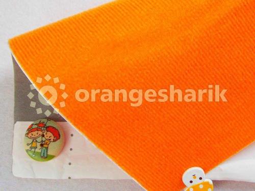 Велкроткань клеевая Оранжевая