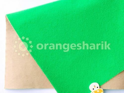 Велкроткань клеевая светло-зелёная (Китай)