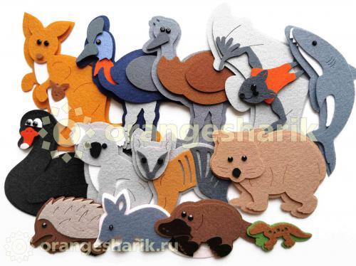 Животные Австралии - Комплект