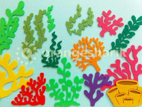 Водный мир - Водоросли и кораллы, комплект