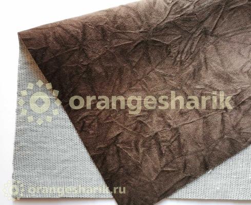 Материал для шитья Велюр Auta коричневый