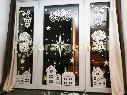 Украшение на окна - Рождество, 3 ств.
