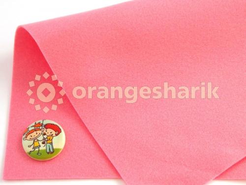 Фетр мягкий 1,0 мм 04 розовый